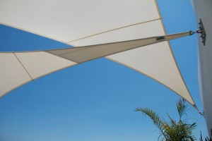 outdoor sails for shade