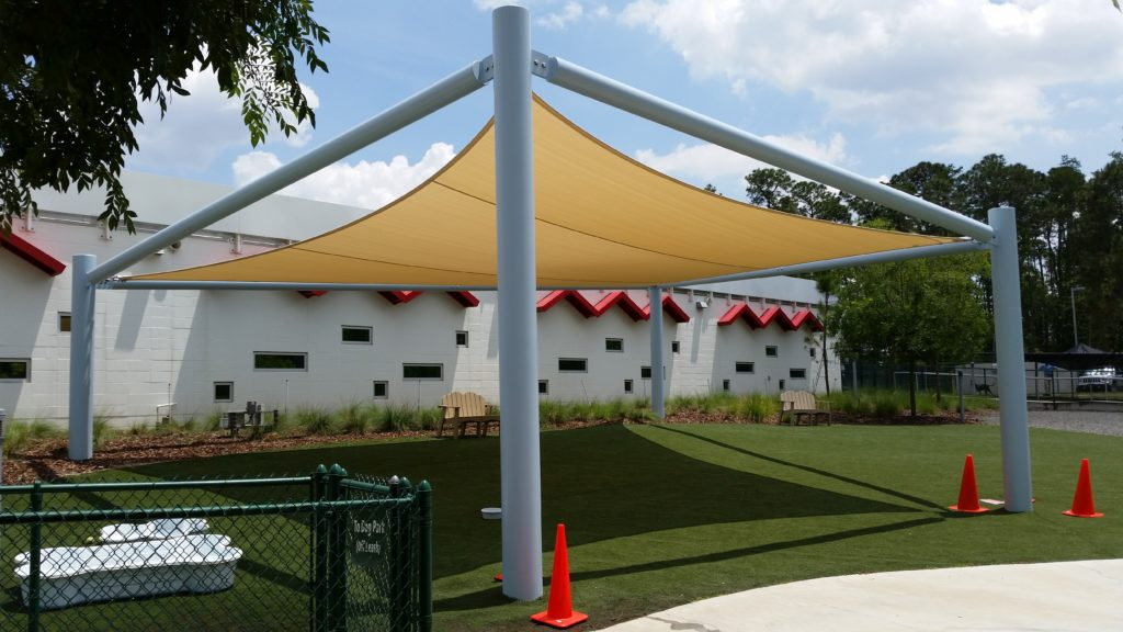 Best Friends Pet Care Walt Disney World Orlando Fl Tension Shade Sails