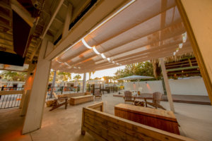 Cable awnings - Shade products projects gallery