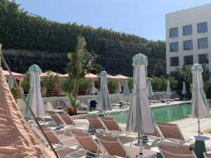 Take a look at our cabanas installed in The Goodtime Hotel